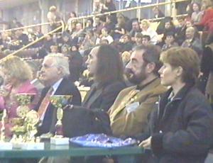 Почетные эксперты Выставки. В центре - Александр Иншаков, Президент РКФ и Президент АНКОР